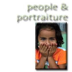 people and portraiture